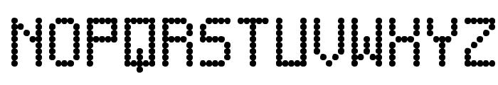 Score Board St Font UPPERCASE