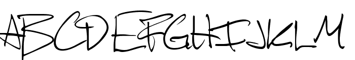 Scotosaurus Font UPPERCASE