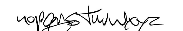 Scotosaurus Font LOWERCASE