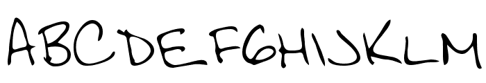 Scott Regular Font LOWERCASE