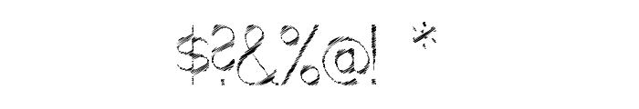 ScrFIBbLE Italic Font OTHER CHARS