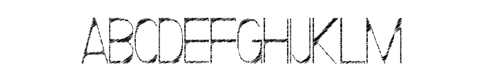 ScrFIBbLE Italic Font UPPERCASE