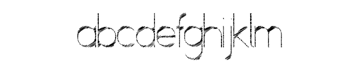 ScrFIBbLE Italic Font LOWERCASE