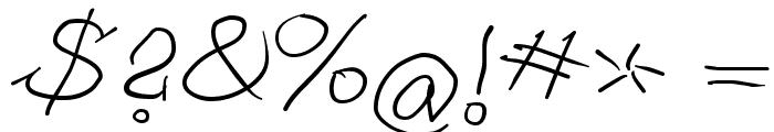 ScrapDealer Font OTHER CHARS