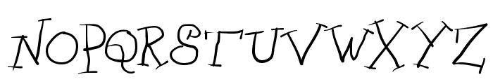ScrapDealer Font UPPERCASE