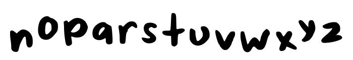 ScrappyLeDoot-MedMono Font LOWERCASE