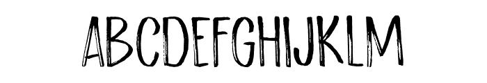 Scratch Up DEMO Regular Font UPPERCASE