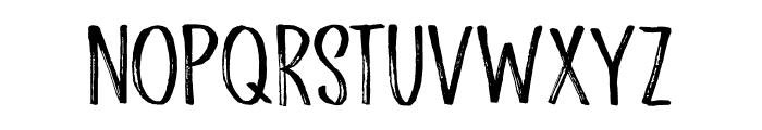 Scratch Up DEMO Regular Font LOWERCASE