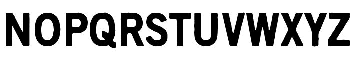 Scratch X Black Font UPPERCASE