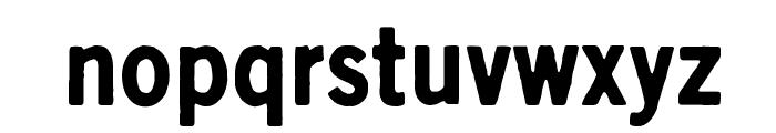 Scratch X Black Font LOWERCASE