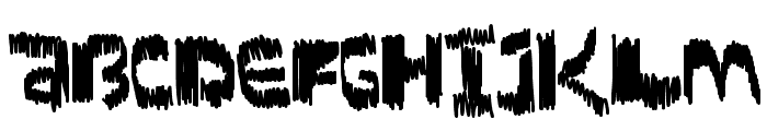 ScratchTimes Font UPPERCASE
