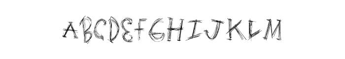 ScratchingMatters Font UPPERCASE