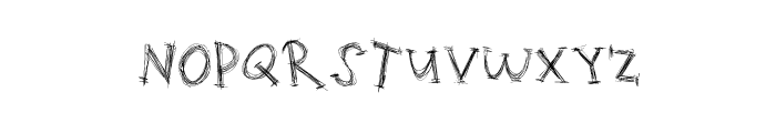 ScratchingMatters Font LOWERCASE