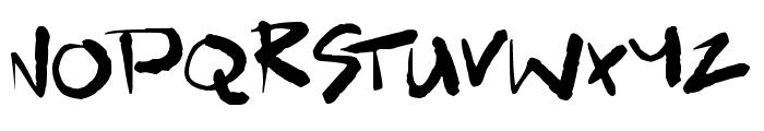 Scrawlamajig Font UPPERCASE