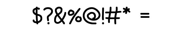 Scrawling Pad Font OTHER CHARS