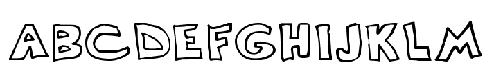 Scrawllege Font LOWERCASE