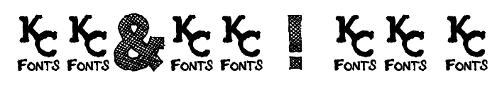 Scribble Box DEMO Font OTHER CHARS