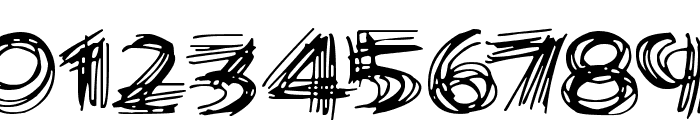 Scribble Lines Font OTHER CHARS