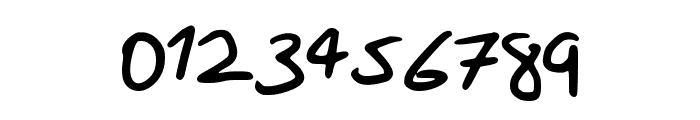Scribble_Hand Font OTHER CHARS