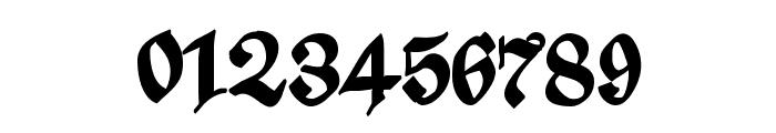 ScribbledFraktur-XHeavy Font OTHER CHARS