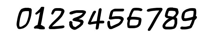 Scribbler Black Italic Font OTHER CHARS