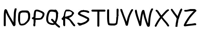 Scribbler ExtraBold Font UPPERCASE