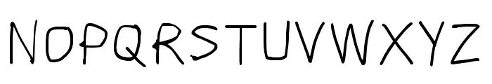 Scribbler Light Font UPPERCASE