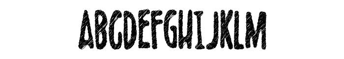 Scribblet Demo Font UPPERCASE