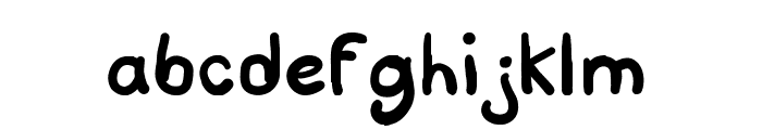 Script Soft Font LOWERCASE