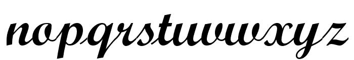 ScriptOpti-Light Font LOWERCASE
