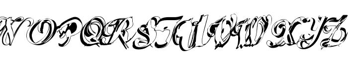 ScripteriaCola Font UPPERCASE