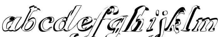 ScripteriaGummy Font LOWERCASE