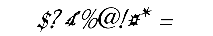 ScripteriaToid Font OTHER CHARS
