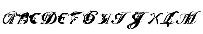 ScripteriaToid Font UPPERCASE