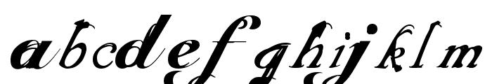 ScripteriaToid Font LOWERCASE