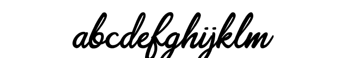 Scripterialism Font LOWERCASE