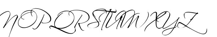 Scriptina Pro Font UPPERCASE