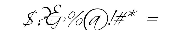 Scriptina Font OTHER CHARS