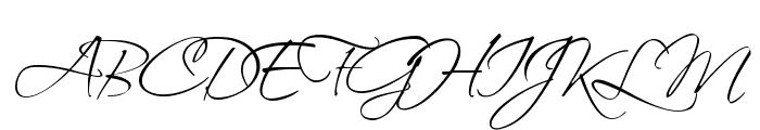 Scriptina Font UPPERCASE