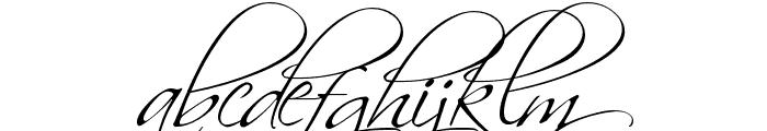 Scriptina Font LOWERCASE