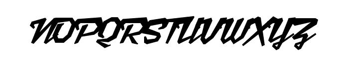 Scriptonite Font UPPERCASE