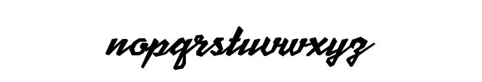 Scriptonite Font LOWERCASE