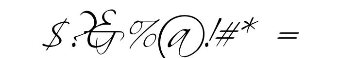 Scriptus Font OTHER CHARS