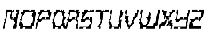 Scritzy Regular Font UPPERCASE