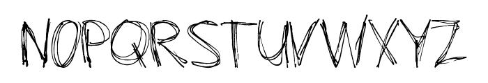 Scrum-Bucket Font LOWERCASE