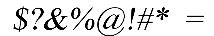 Scrypticali Italic Font OTHER CHARS