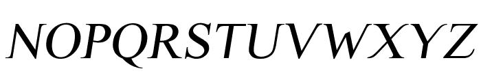 Scrypticali Italic Font UPPERCASE