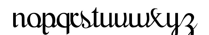 Scrypticali Normal Font LOWERCASE