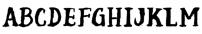 Scuffle Font UPPERCASE