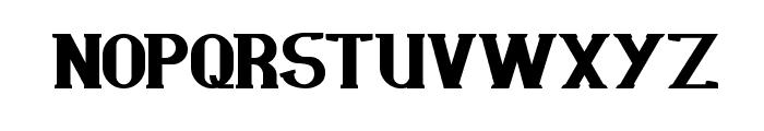 scientist Font UPPERCASE